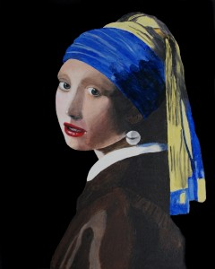 The Lady with a Pearl Earring